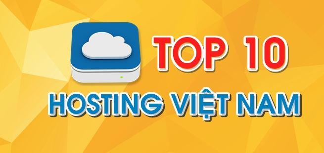 Top 10 nhà cung cấp hosting uy tín nhất