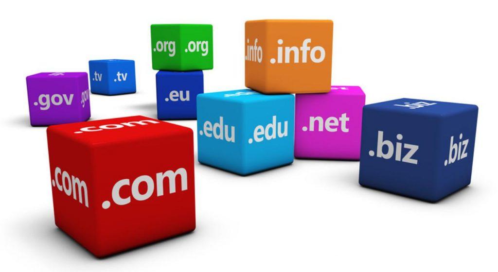 Các loại domain phổ biến
