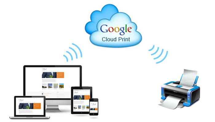 Công nghệ in không dây - Google Cloud Print